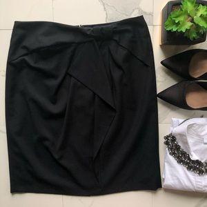 Banana Republic Black Knot Pencil Skirt